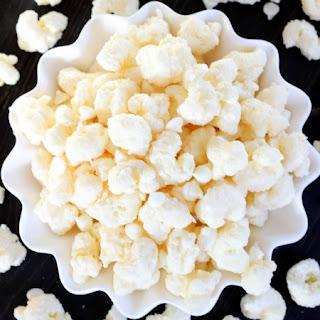 White Chocolate Puff Corn.