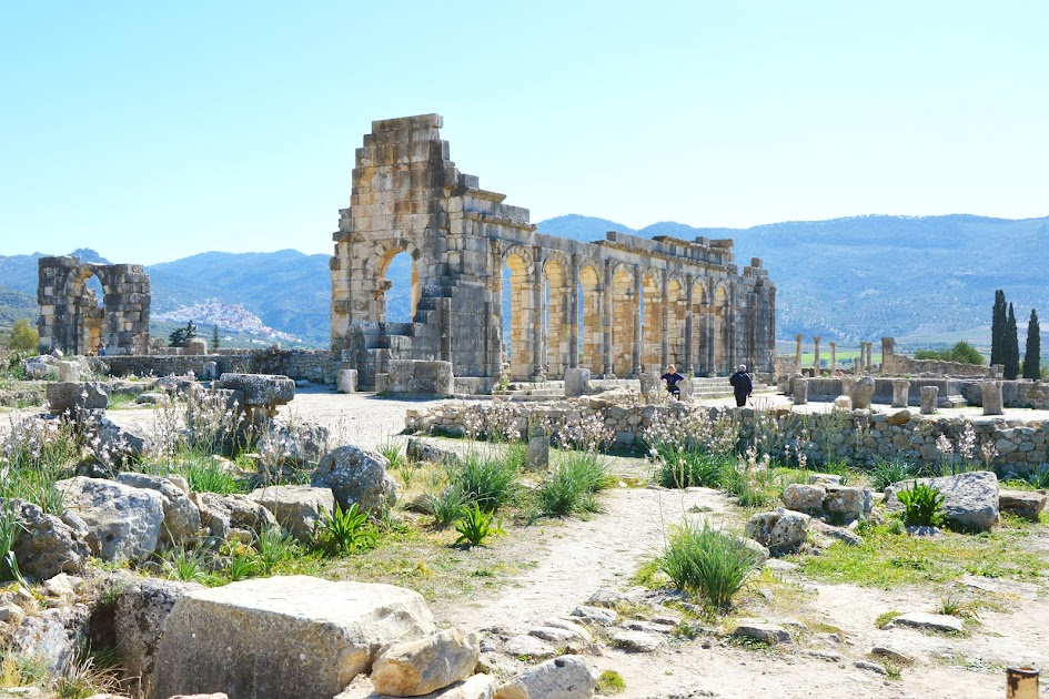 Volubilis-in-Marokko