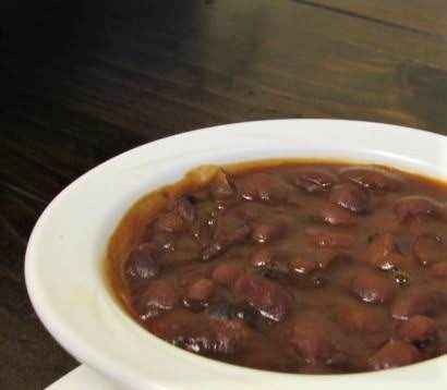 Homemade Amish Style Baked Beans Recipe