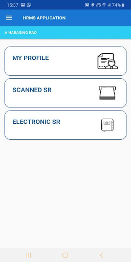 HRMS Employee Mobile App for Indian Railways screenshot 5