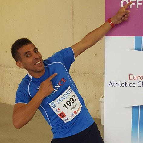Mickael participe au semi-marathon de Nice pour soutenir L'Arche à Grasse !