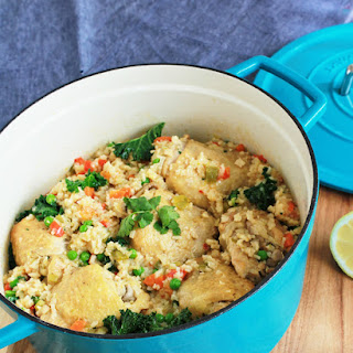 Arroz Con Pollo with Tons of Vegetables