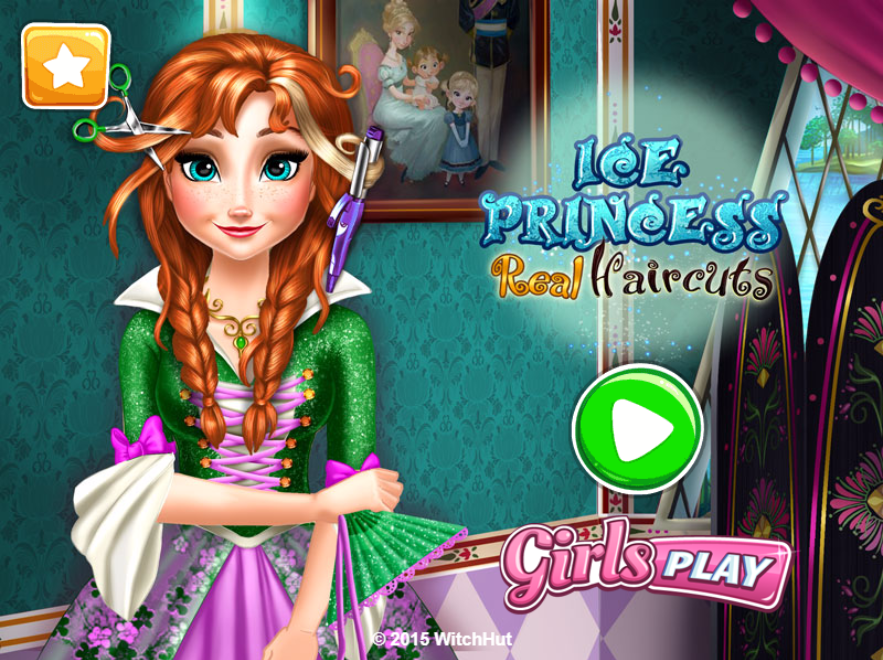 Ice Princess Real Haircuts Girl Games Android Apps On Google Play - Haircut girl game