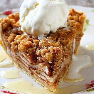 Apple Crisp Pie.