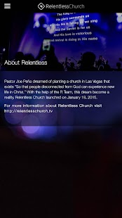 Relentless Church - Las Vegas- screenshot thumbnail