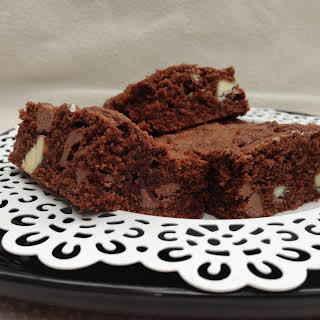 The Best Triple Chocolate Brownie.