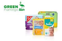 Angebot für Babywindeln testen im Supermarkt