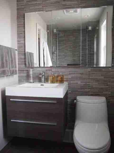 Modern Half Bathroom Design modern half bathrooms