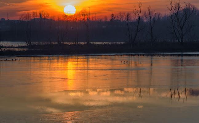 Tramonto al lago.. di vaiolet