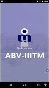 ABV-IIITM - náhled