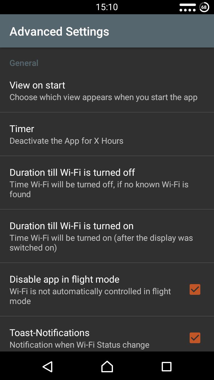 WiFi Locator Screenshot 1
