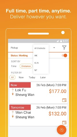 Lalamove Driver - Earn Extra Income Screenshot