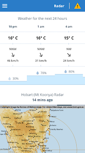 BOM Weather- screenshot thumbnail