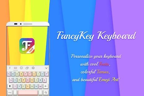FancyKey Keyboard - Emoji, GIF - náhled