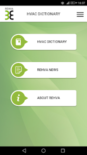 REHVA Dictionary- screenshot thumbnail