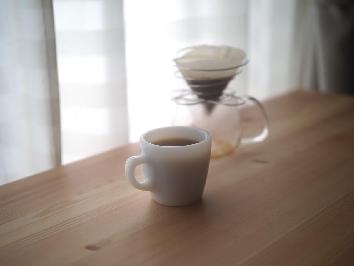 おいしいコーヒーの完成