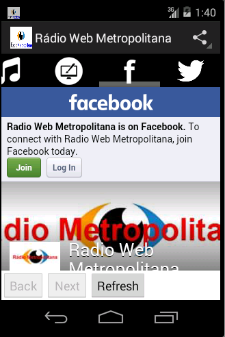 Rádio Web Metropolitana
