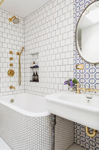 ideas decorativas para baños pequeños