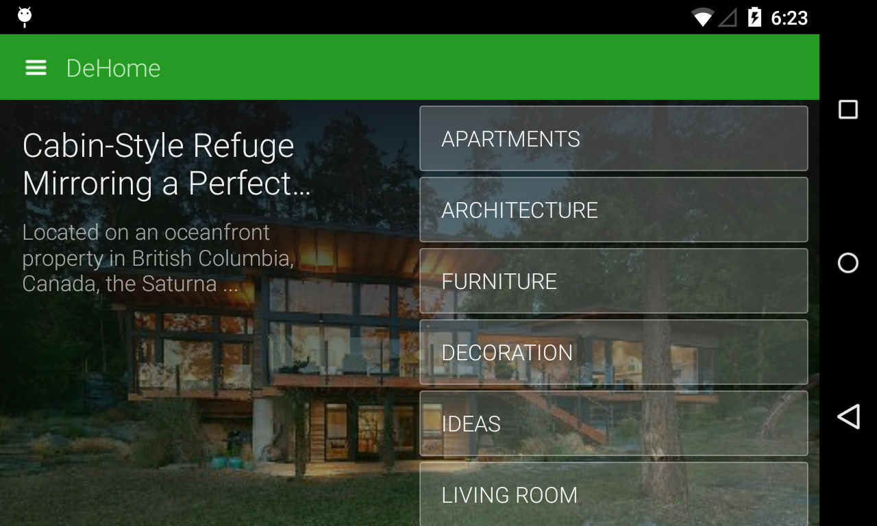 DeHome - Architecture & Design - screenshot
