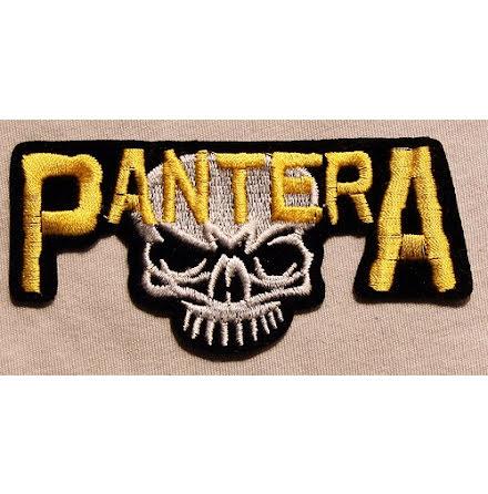 Pantera - Skalle - Tygmärke