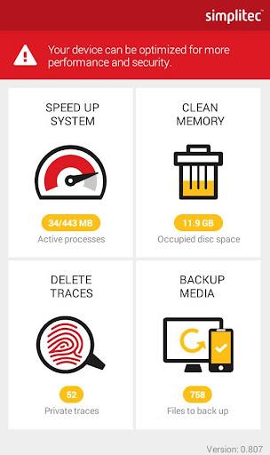 simpli Clean Mobile  - BOOSTER & CLEANER 1.5.0.190 screenshots 2