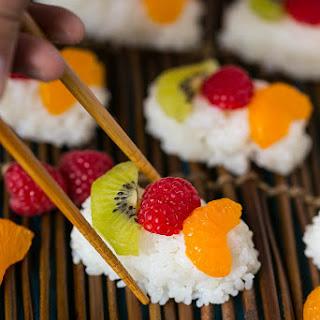 Fruit Sushi (Frushi)