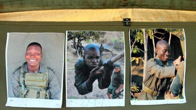 """На стенке палатки """"Акашинги"""" - фотографии членов отряда"""