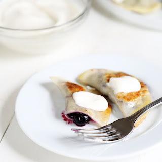 Gluten Free Blueberry Pierogi