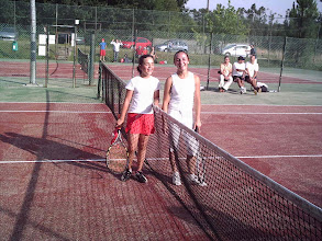 Photo: DELIA-ELDA FINAL TORNEO 2007