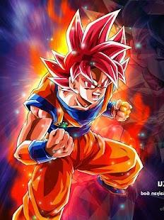 Goku SSG Wallpaper HD 4K - náhled