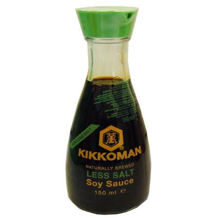 Kikkoman Soy Sauce Less Salt