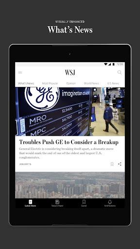 The Wall Street Journal: Business & Market News  screenshots 6
