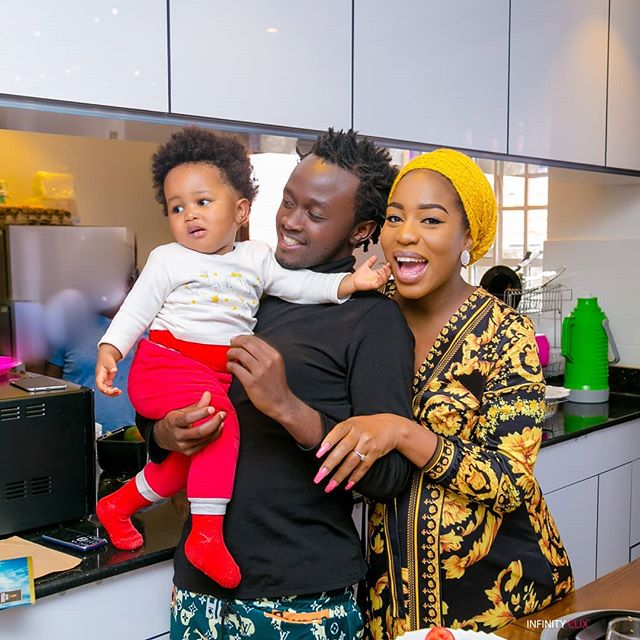 Bahati reveals son's hairstyles are inspired by Wasafi artists