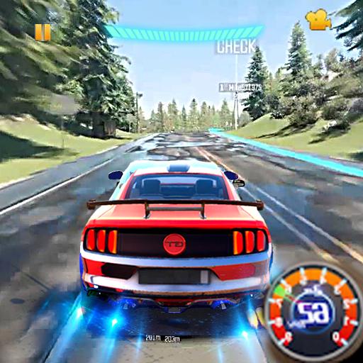 Racing In Car Speed Drift