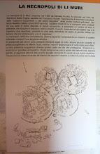 Photo: 020 Li Muri -nekropolin ympyrähautojen esitetaulu