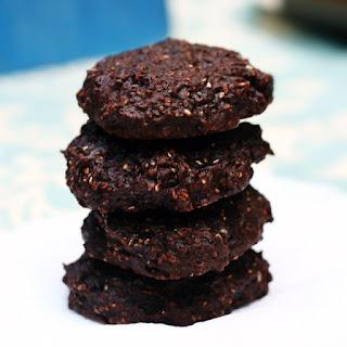 Carob Chia Cookies