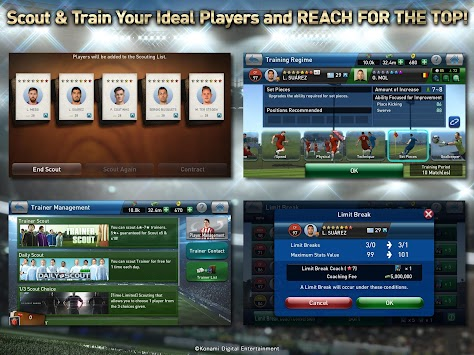 PES CLUB MANAGER apk screenshot