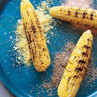 Corn on the Cob with Seasoned Salts