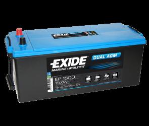 Tudor/Exide Dual AGM batteri 12V/180Ah