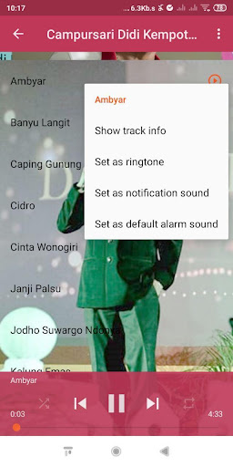 Karaoke Lirik + Campursari Didi Kempot Offline screenshots 3