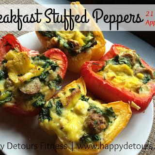 Breakfast Stuffed Peppers.
