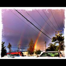 Photo: Double rainbow - May 4th 2012 #intercer - via Instagram, http://instagr.am/p/KPPoYwJfun/