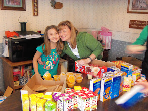 Photo: Emily and Laura packing kare kits! March 2013.