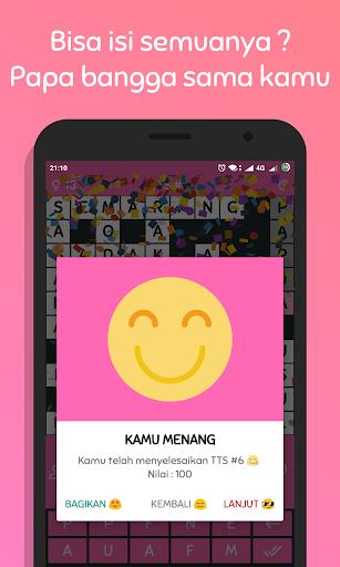TTS Pintar 2018 - Teka Teki Silang Offline 1.2.3 gameplay | by HackJr.Pw 6