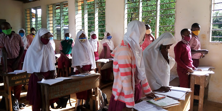 Kinarini primary school prepares for revision in Matuga sub-county.