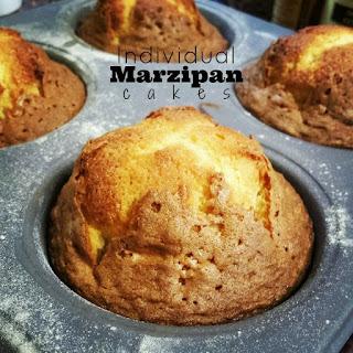 Individual Marzipan Cakes.