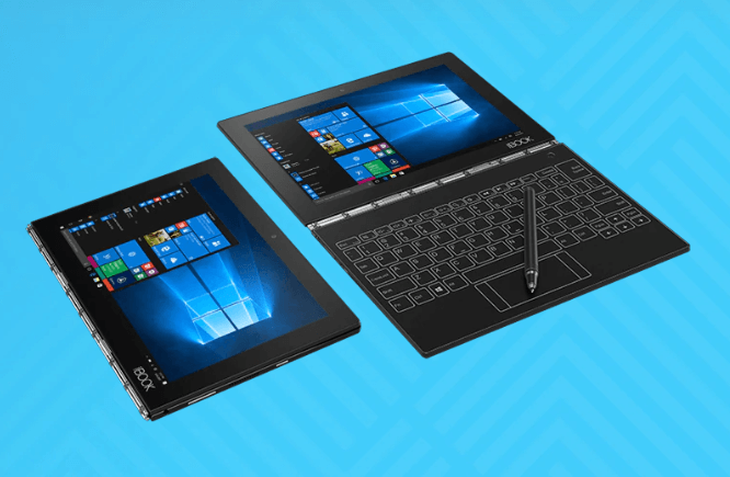 Best portable drawing tablet to buy in 2020 - Lenovo Yoga Book Full HD