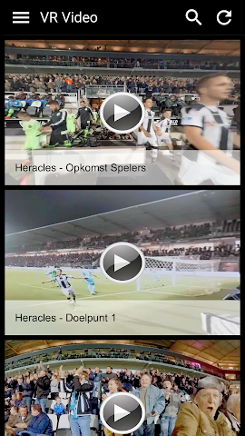 android Heracles VR video Screenshot 1