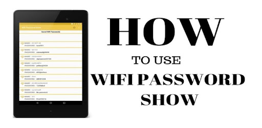 Wifi Password Show - Apps on Google Play