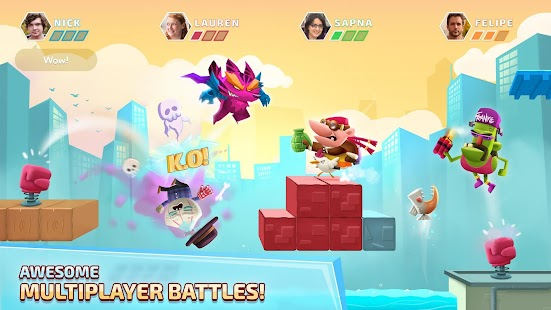 Super Jump League - Awesome Multiplayer Battles Screenshot